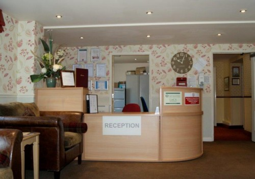 Our reception area is very warm and inviting allowing you to feel welcomed the right way to Foxby Hill.