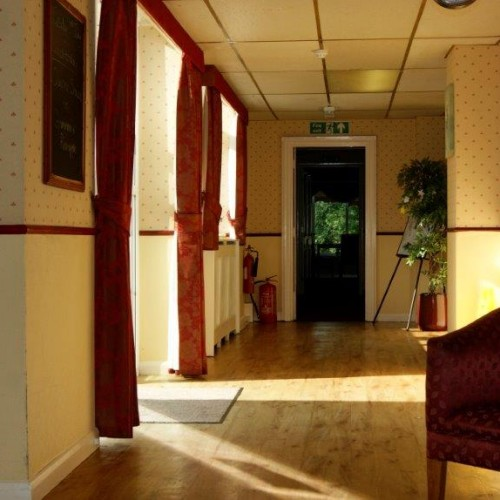 We have lovely, well decorated rooms and hallways to make you feel at home.